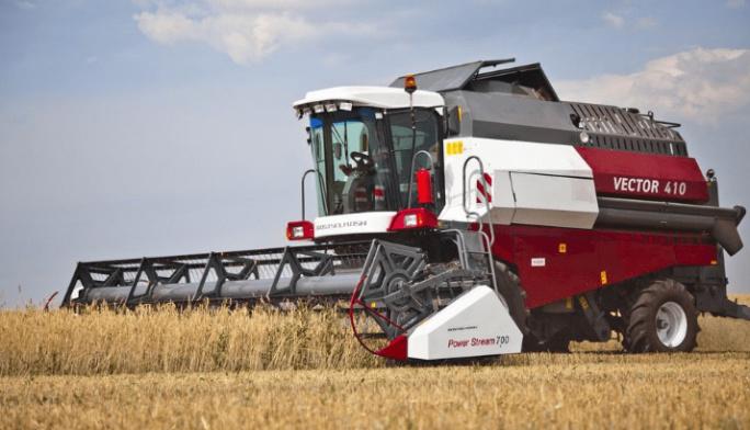 Зерноуборочный комбайн Vector 410 покоряет зарубежные рынки