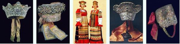 Этруски носили русские кокошники…