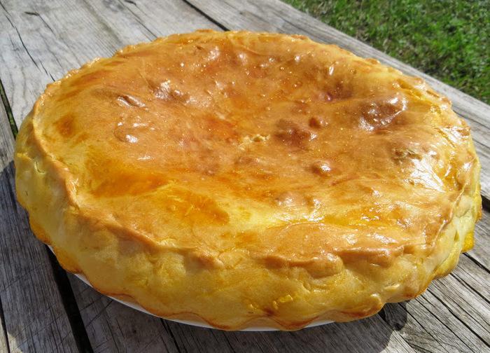 Пирог в грузинском стиле