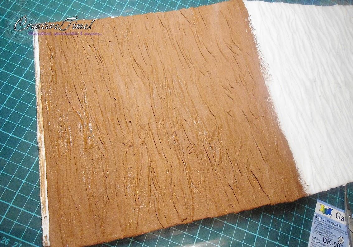 Имитируем древесную кору