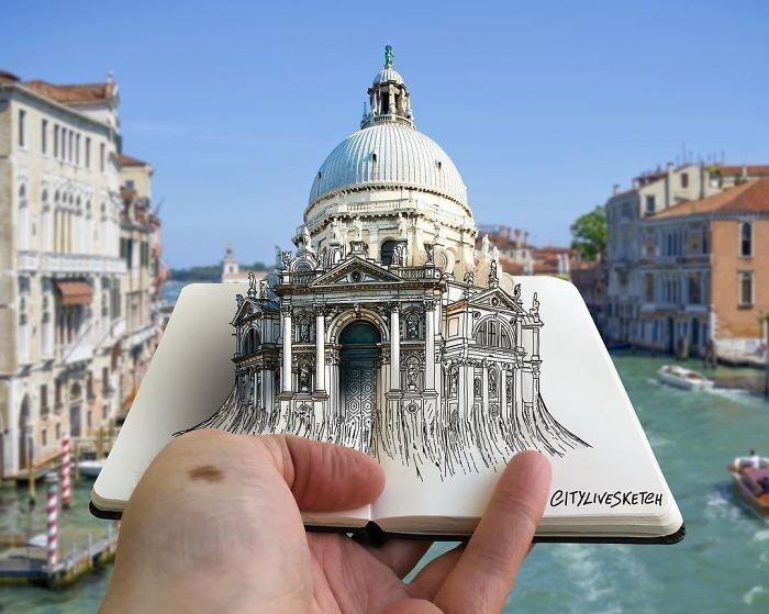 Итальянский художник создает новую географию впечатлений