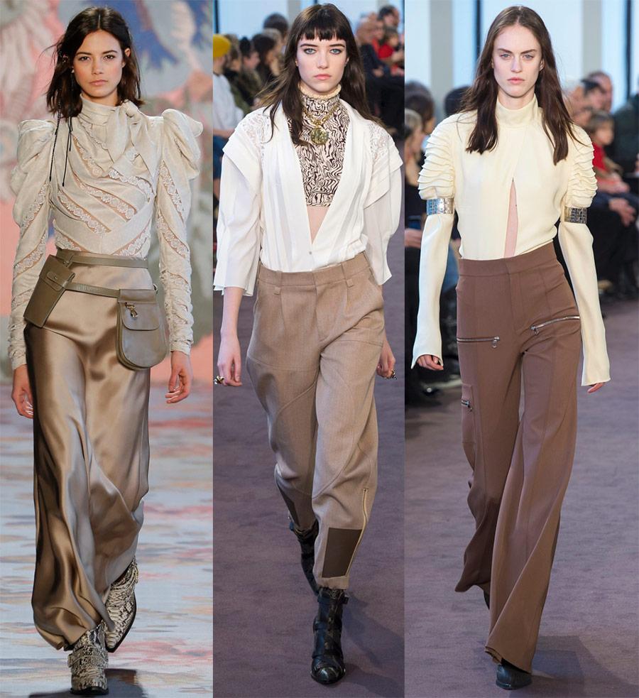 Модные блузки 2018-2019 года
