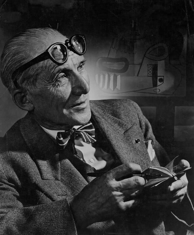 Le Corbusier by Yousuf Karsh