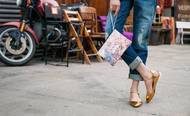 На пике: нарядные туфли без каблука: тренды 2017