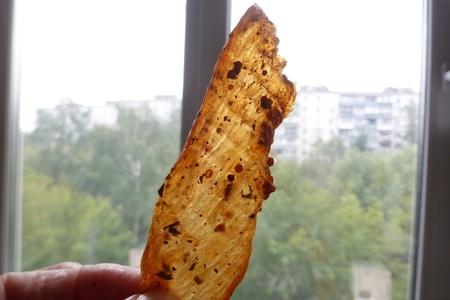 Фото к рецепту: Чипсы из куриной грудки