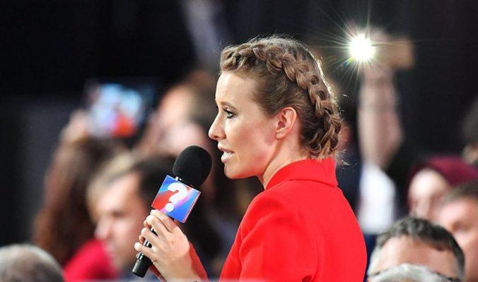 «В тупик этими вопросами Путина не поставишь»: Собчак пообещала показать вырезанные фрагменты из «Дела Собчака»