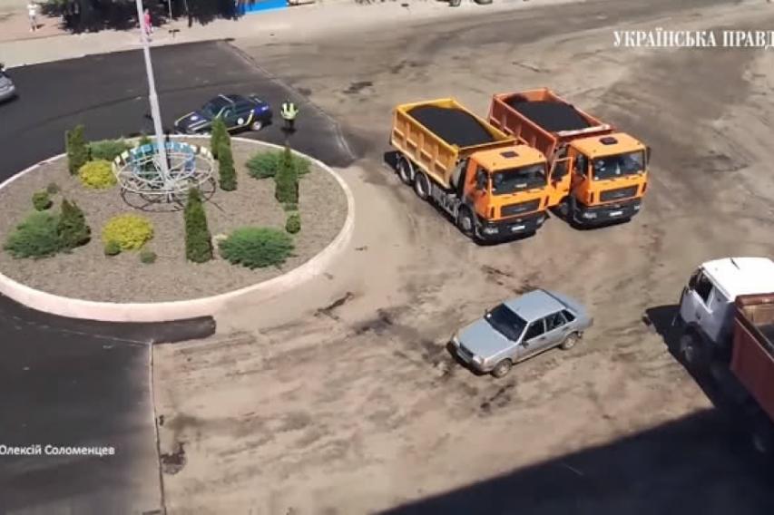 Пользователи соцсетей высмеяли действия полиции во время странной погони под Киевом