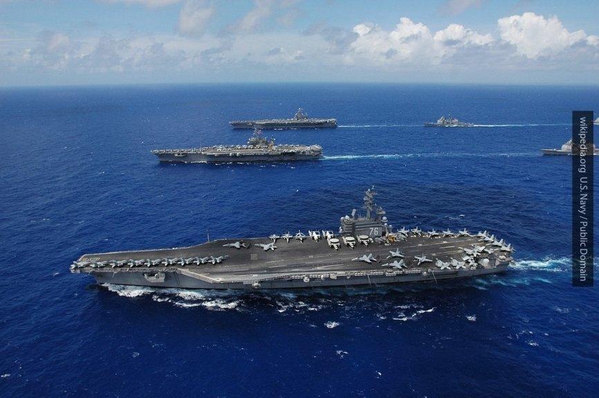 Ударная группа ВМС США во главе с авианосцем «Гарри Трумэн» вошла в Средиземное море