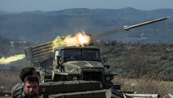 ВСирии окружена крупная группировка террористов