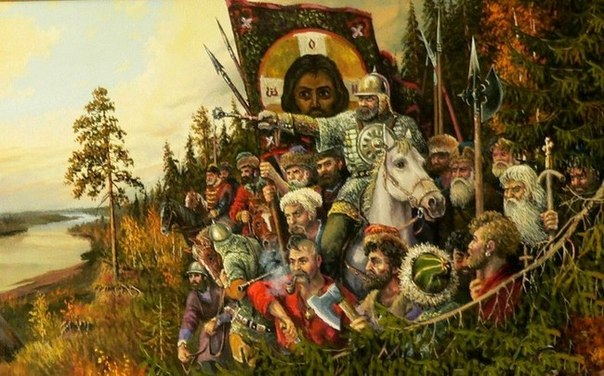 Гибель Ермака Тимофеевича