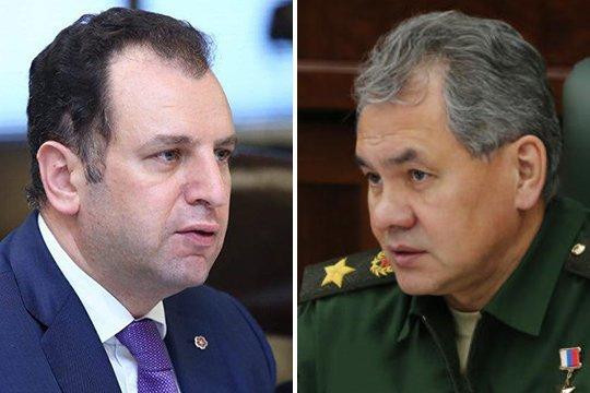 Министры обороны России иАрмении проведут встречу вМоскве