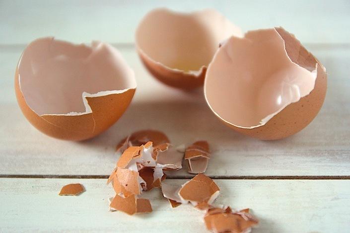 Использование скорлупы яиц