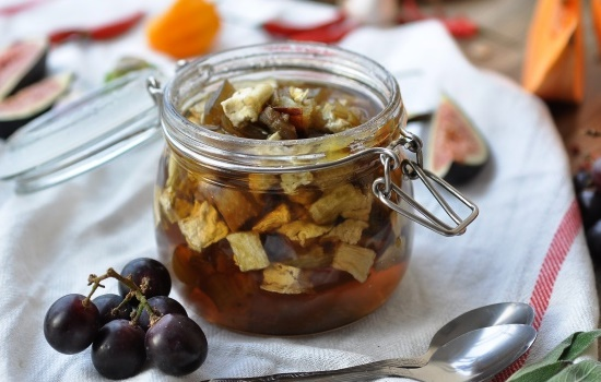 Варенье из баклажанов с орехами на зиму