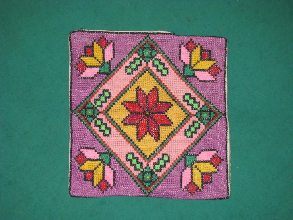 Вышивка болгарским крестом