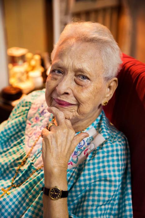 Этой женщине вот-вот исполнится 100 лет.