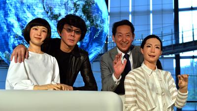В Японии робота научили вести теленовости