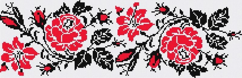 Подборка цветочно-орнаментальная