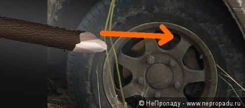 Как вытолкать застрявший автомобиль в одиночку