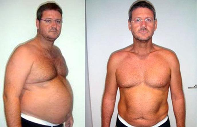 Как похудеть в животе мужчине в 60 лет