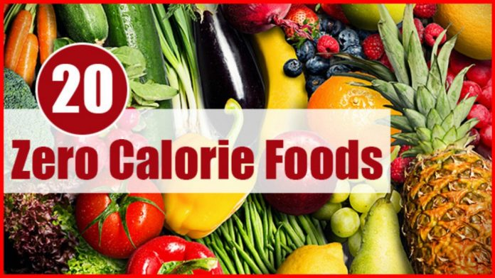 Продукты с нулевой калорийностью, которые помогут вам похудеть