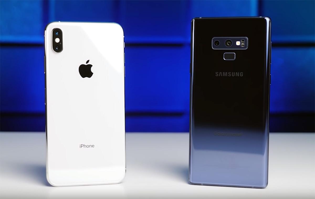 Сравнение камер: iPhone XS Max против Samsung Galaxy Note 9