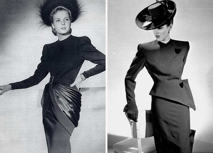 История моды: 40-е