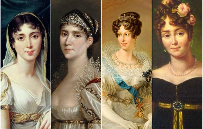 Четыре главные женщины в жизни Наполеона Бонапарта