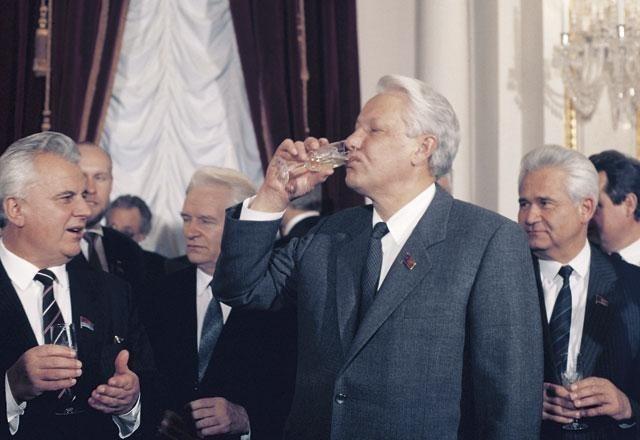 Ельцин и алкоголь