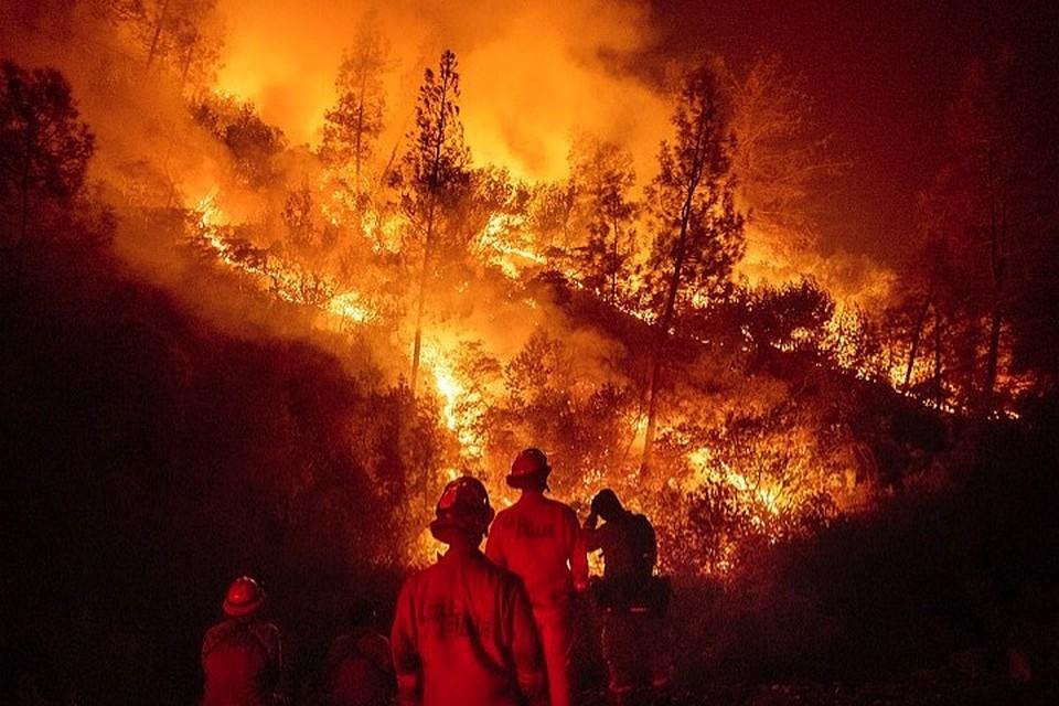 Земля горит!