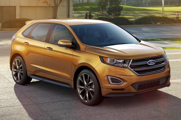 Ford подготовил кроссовер Edge нового поколения
