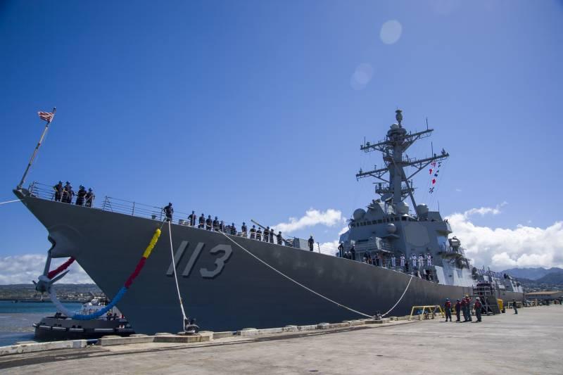 Армада из новых кораблей. ВМС США - 2017 год