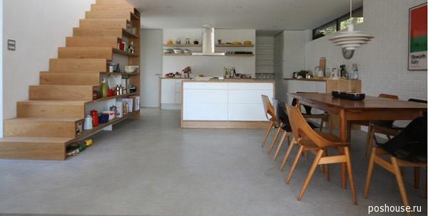 Как сделать из кухни лестницу 119