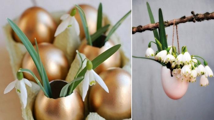как сделать поделки из яичной скорлупы