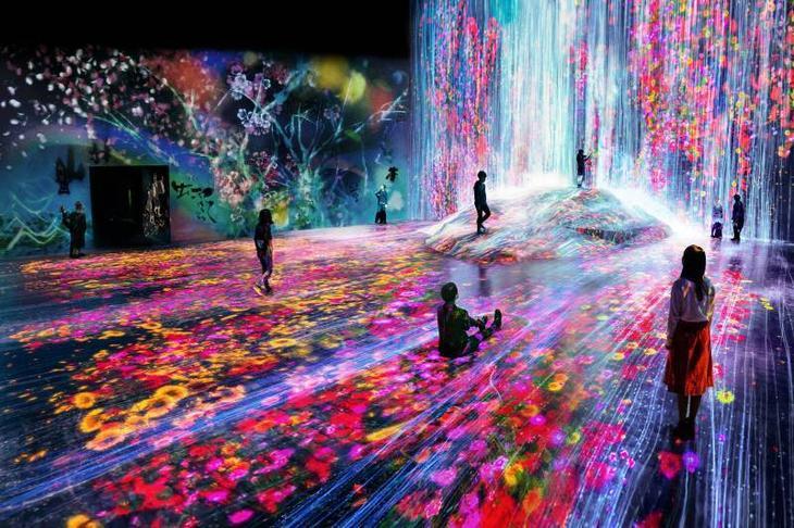 В Японии открыли первый в мире интерактивный музей цифрового искусства