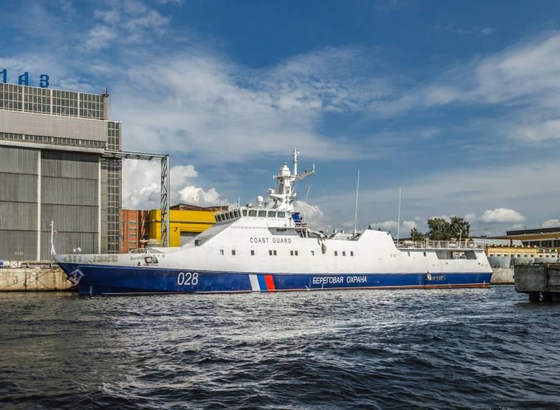 Погранслужба ФСБ получила новый сторожевой корабль «Преданный»
