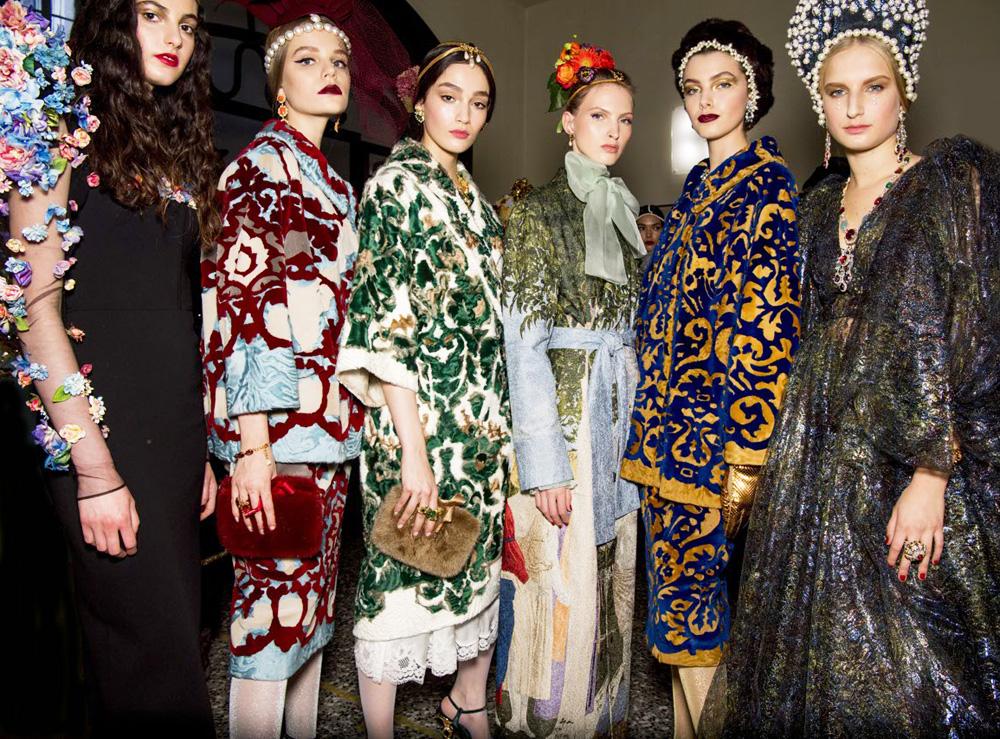 Великая красота: показ Dolce&Gabbana ALTA MODA в Милане