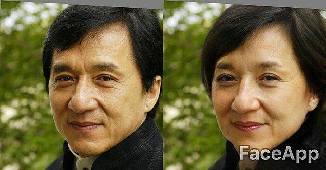 Джеки Чан практически не изменился