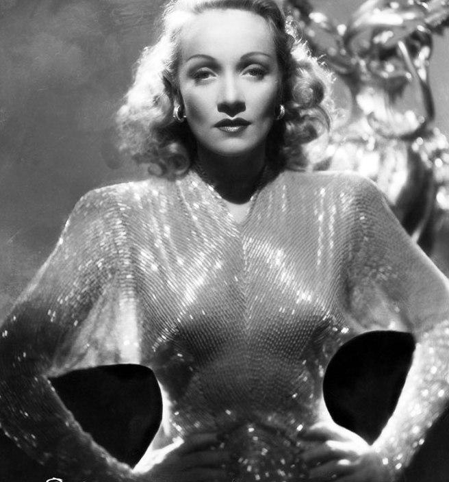 Шик и блеск — платья Золотой эры Голливуда, расшитые стеклярусом