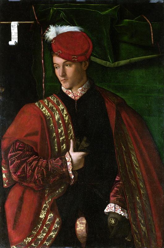 Bartolomeo Veneto - Lodovico Martinengo. Национальная галерея, Часть 1