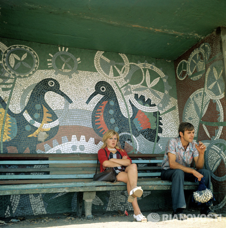 Guardian: советские автобусные остановки – самые красивые в мире