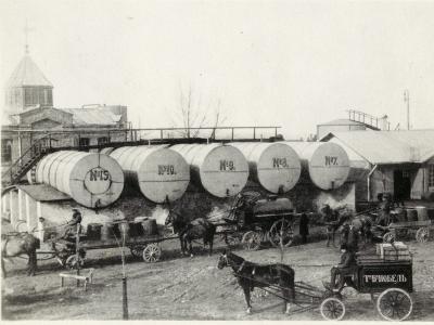«Черное золото» России в 1913 году