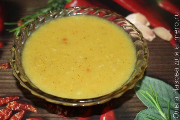 Пикантный чесночный соус