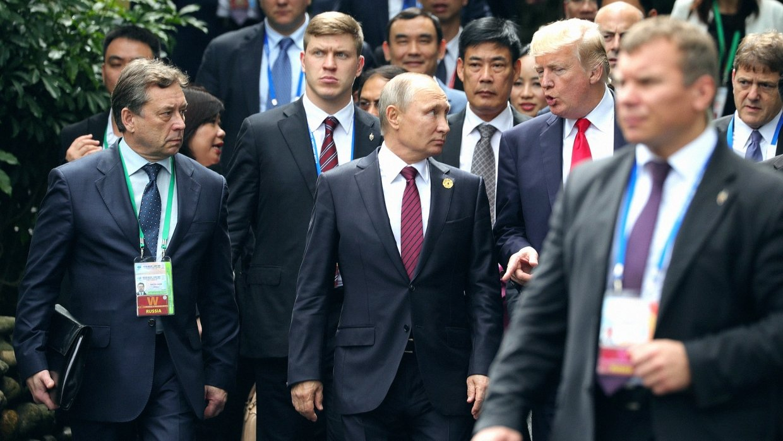 О чем будут говорить Трамп и Путин