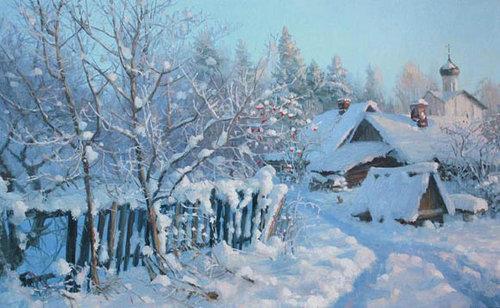 Зима. Михаил Кузмин