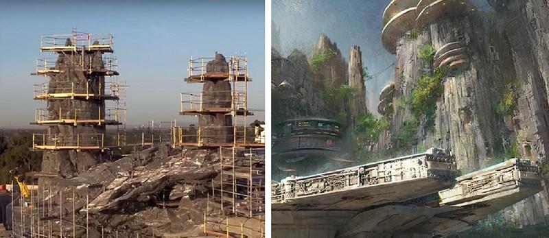 """Студия """"Дисней"""" откроет два тематических парка, посвященных """"Звездным войнам"""""""