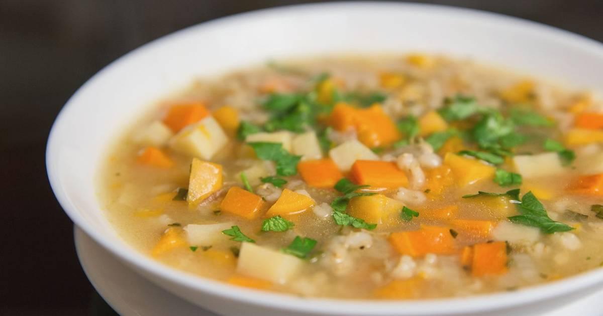 Картинки по запросу Овощной суп с перловкой и репой | Веганский рецепт