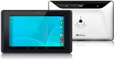 Google представила планшетную версию 3D-платформы Project Tango на базе Tegra K1
