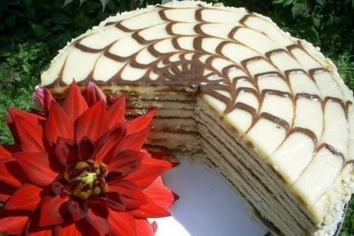 Быстрый торт «Идеальный» на сковороде.