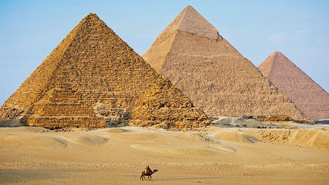 Учёные раскрыли секрет строительства пирамид