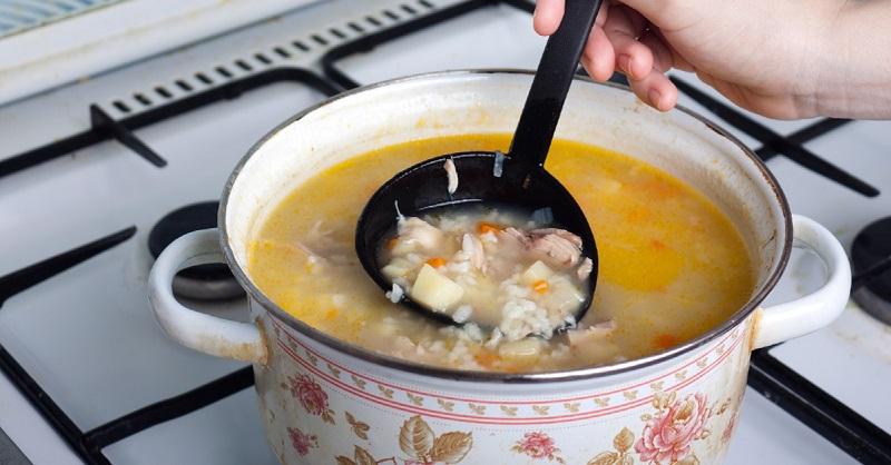 рыбный суп из сардины